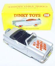 Matchbox Dinky Toys 1:43 NASH METROPOLITAN 1958 Model Car Code-2 018 MIB`04 RARE