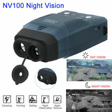 NV100 Digital Night Vision Scope Monocular IR Telescope Video Outdoor Hunting ^