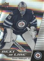 2015-16 Upper Deck Overtime Next in Line #NL6 Connor Hellebuyck Winnipeg Jets