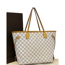 Louis Vuitton Damier Azur Neverfull Mm Tote 7lv619