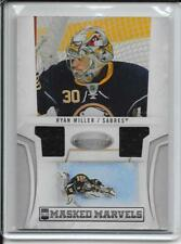 10-11 Certified Ryan Miller Masked Marvels Dual Jersey # 4 #d/99