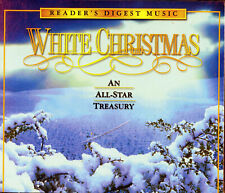 "Readers Digest Music ""White Christmas""  An All Star Treasury 4 Discs + Booklet"
