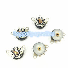 5Pcs Potentiometer 10K RV12 B103 12MM 5PIN Rotary Switch Radio