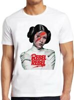 Princess Rebel Leia T Shirt Carrie Fisher Vintage Funny Cool Gift Tee 300