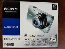 Sony Cyber-shot DSC-WX150 18.2MP Digital Camera - Silver