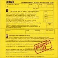 UB40 - Signing Off [CD]