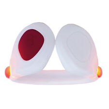 New LED clip on Shoe light for runners and cyclists Pedometer White/Red Safety
