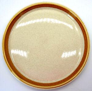 brown ridged edge. side plate Vintage Mikasa Japan Natural Beauty C9000 salad Speckled ground 1970s
