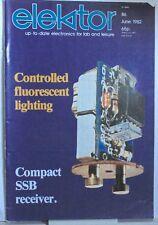 Elektor Magazine June1982 - SSB Receiver -Controlled Fluorescent Lighting