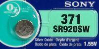 SONY 371 370 SR920W SR920SW (1 Piece) Brand New Battery US Seller