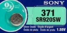 SONY 371 370 SR920W SR920SW (1 Piece) Brand New Battery EXP 06-2019