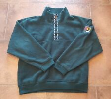 Vintage Tommy Hilfiger Norway Fleece Pullover Jacket Green XL Alpine Expedition