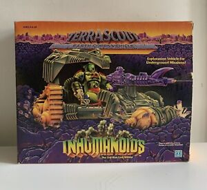 Vintage Inhumanoids Terrascout Vehicle 1986 Hasbro Boxed Never Used Rare!