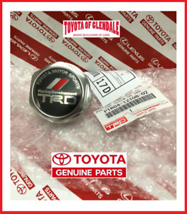 TOYOTA SCION LEXUS TRD OIL CAP FORGED BILLET ALUMINUM GENUINE OEM PTR04-12108-02