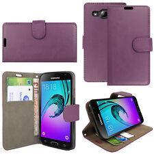 Leather Flip Case Wallet Cover for Samsung Galaxy Phone Models j3 J4 J5 J6 2018