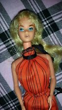 BARBIE DOLL KISSING 1978 VINTAGE RARE DOLL RED DRESS VERY PRETTY
