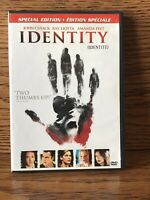 Identity Special Edition (DVD) Horror Disc NM