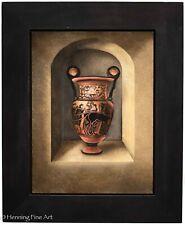 Adrienne Sherman Original Oil Paiting Ancient Greek Vase / Pot Signed & FINE