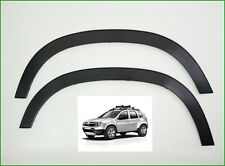 DACIA Duster Suv 2010-.... NEW Black  WING WHEEL ARCH TRIM SET OF 4 FRONT*REAR