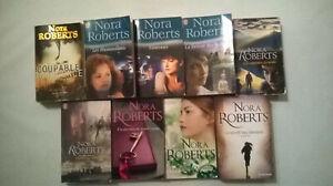 Lot 10 + 1 KDO Livres ** NORA ROBERTS ** J'AI LU & HARLEQUIN  (L723)