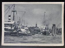 Germany: HAMBURG PORT - 14542/43 - Old Postcard