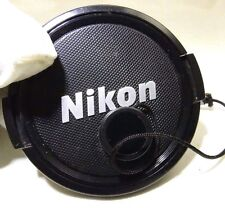 Nikon 58mm Front Lens Cap snap on Genuine  --  Free Shipping Worldwide
