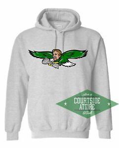 Nick Foles Fly Eagles Fly Sweatshirt Hoodie Mens Philadelphia jersey super bowl