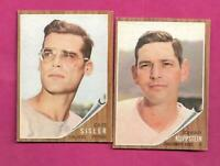 1962 TOPPS CINCINNATI REDS  EX-MT CARD LOT  (INV# C1427)