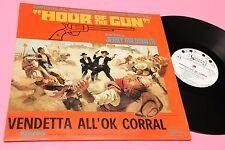 lp ost vendetta ok corral OUR OF THE GUN ORIG ITALY 1967 EX PROMO EDITION LAMINA