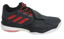 Adidas D Rose Englewood Boost Mens Lace Up Black Basketball Trainers AQ8106 B4B
