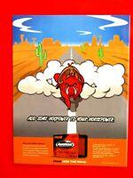 """2004 FRAM Hog Power Original Print Ad 8.5 x 11"""""""
