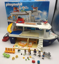 Playmobil 6978 Family Fun Panama Cruise Ship boxed Playset. Most parts included.