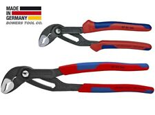 "Knipex Cobra 7-1/4"" & 10"" Plier Set Adjustable Water Pump Pliers w Comfort Grip"