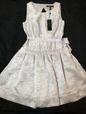 NEW!!! BCBG MAXAZRIA Womens Delphine Pleated Open Back Dress, Size 0