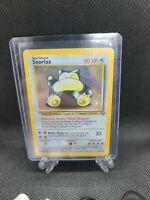 Snorlax 11/64 Jungle Set Holo Foil Rare Vintage 1999 Pokemon Card