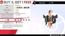 ✨ Shiny Tapu Koko ✨ Legendary Pokemon Sword and Shield Perfect IV Pokémon
