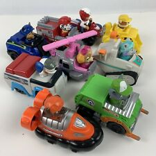 LOT OF 9 PAW PATROL Spin Master  Vehicles Rescue Racers Cars Trucks Toys
