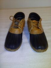VINTAGE WOMENS LL BEAN MAINE HUNTING SHOE LOW CUT DUCK BOOTS SIZE 6