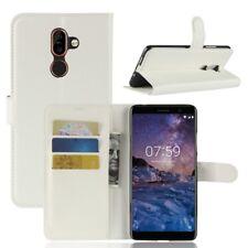 Nokia 7 plus Portable Housse Sac Case Étui de Blanc 2011 W