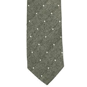 BILLY REID USA Ice Green White Polka Dot Men's Designer Silk Neck Tie Snazzy!