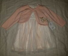 NWT Disney Parks Disney Store Baby Girl Bambi Dress Easter Spring 3 - 6 Month