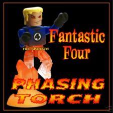Fantastic Four HUMAN TORCH 2005 SDCC EXCLUSIVE Marvel Minimates Universe (FF 4)