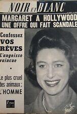 MARGARET en COUVERTURE de NOIR et BLANC No 1040 DE 1965 COURS DE MAGIE AU LYCÉE