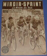 MIROIR SPRINT N°371 1953 CYCLISME TOUR FRANCE BOBET ROBIC MAHE LAUREDI QUENNEHEN