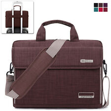 "15.6"" Laptop Notebook Sleeve Case Shoulder Bag Handbag for Lenovo Samsung Brown"