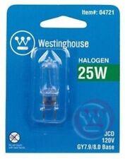 Westinghouse 0472100 25 Watt T4 JC Halogen Light Bulb