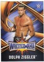 2017 Topps WWE Road to WrestleMania 33 Roster Insert #WMR-28 Dolph Ziggler
