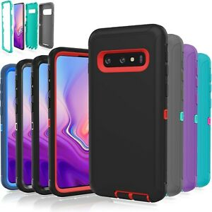 Samsung Galaxy S10 / S10 Plus / S10E / 5G Case Shockproof Hybrid Rugged Rubber