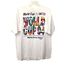 Wold cup USA 94 CGW Withe t-shirt vintage One Size