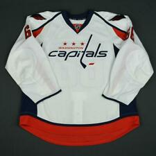 2015-16 Dustin Gazley Washington Capitals Game Issued Hockey Jersey MeiGray NHL